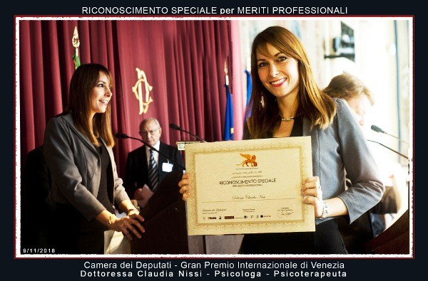 Claudia Nissi: Psicologo, Psicoterapeuta